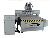 CNC Router Three Spindles